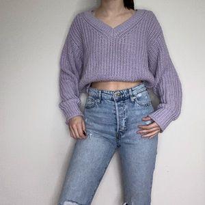 H&M V-neck Knit Sweater